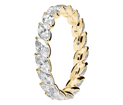 Memory Ring Venedig in Gelbgold