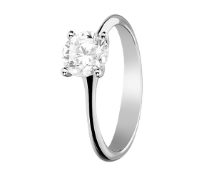 Platinum Diamantring