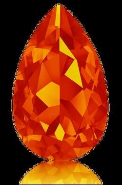 Feueropal feuriges Orange