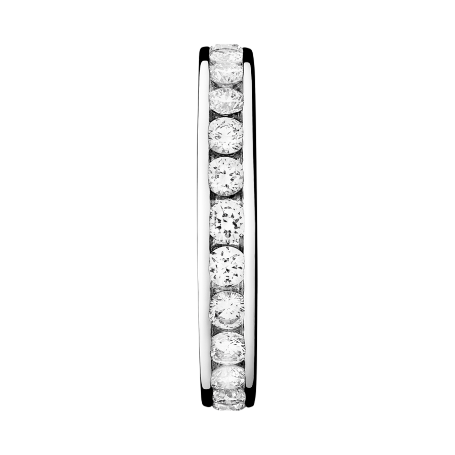 Eternity Ring Amsterdam G VS in Platinum