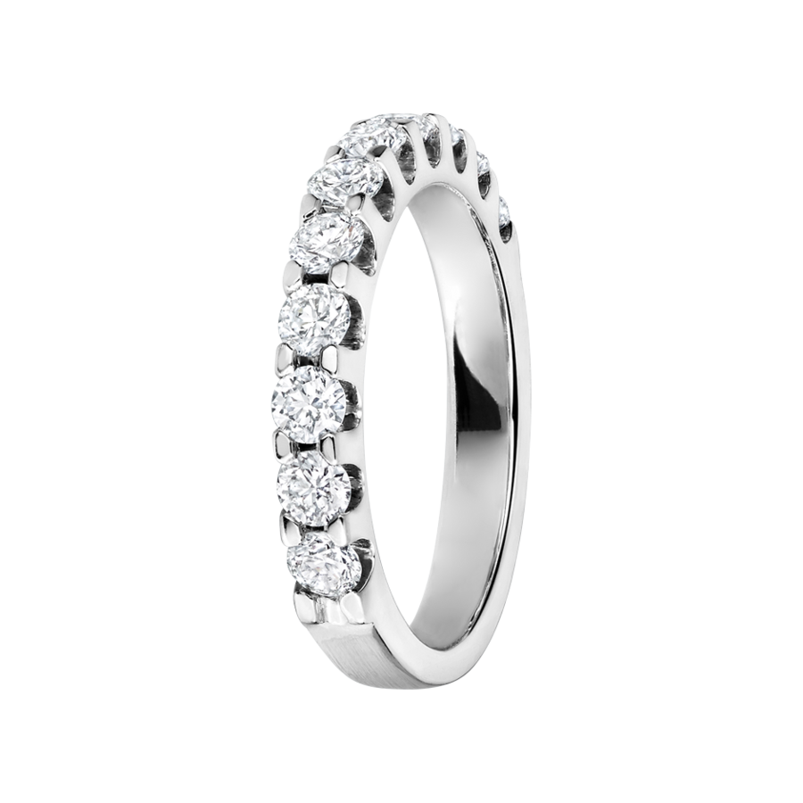 Eternity Ring Bergen G VS in White Gold