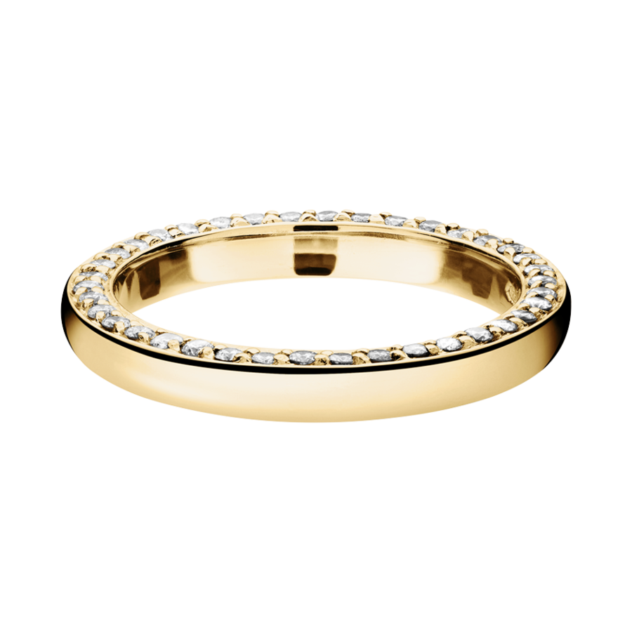 Eternity Ring Bologna in Yellow Gold