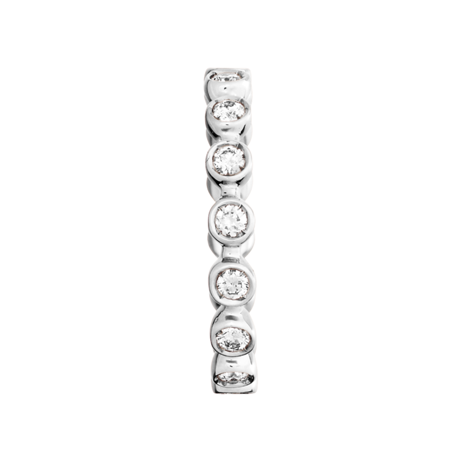 Eternity Ring Faro G VS in White Gold