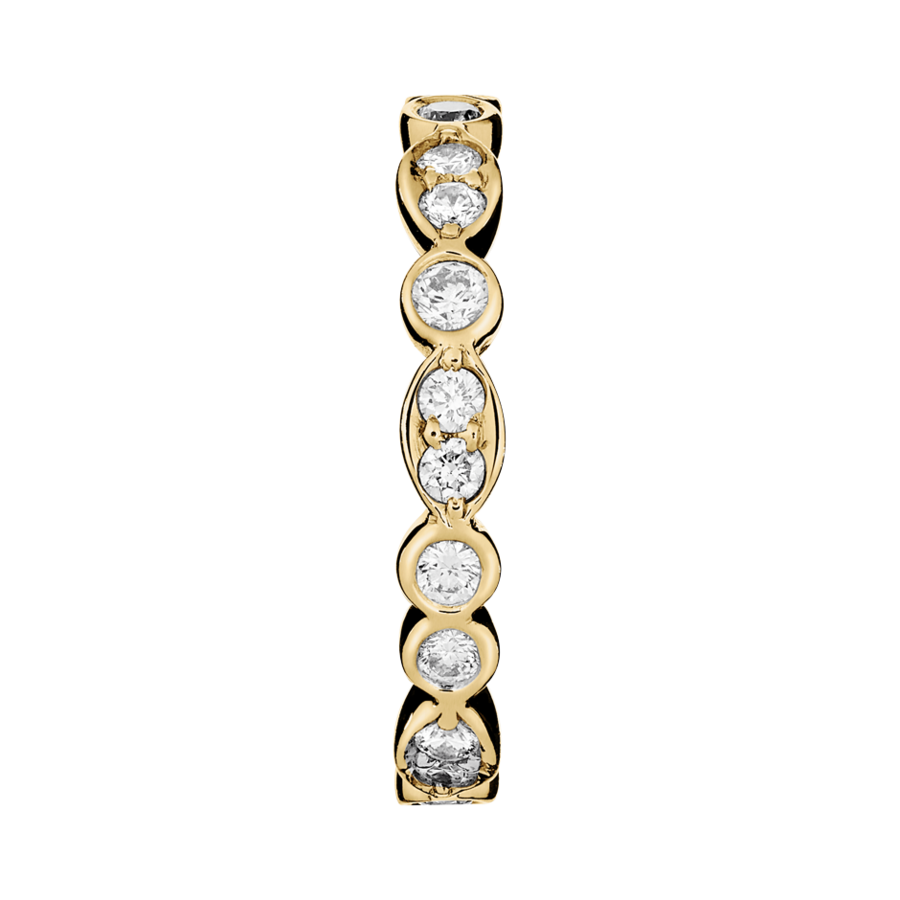 Eternity Ring Porto Cervo in Yellow Gold