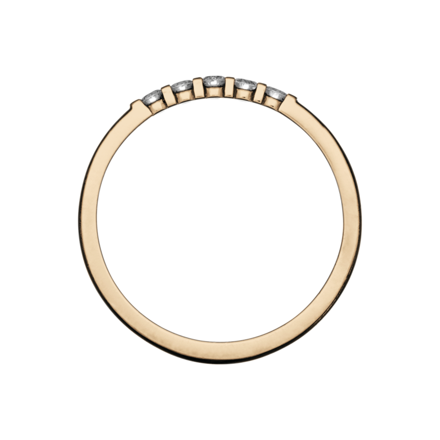 Eternity Ring Rotterdam G VS in Rose Gold