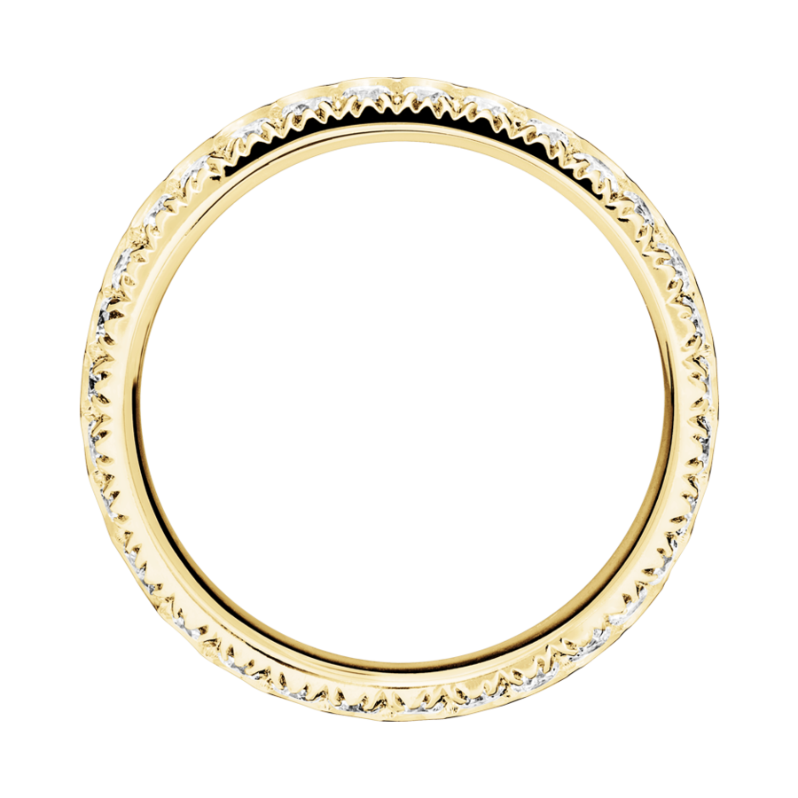 Memoire Ring Oxford H SI in Gelbgold