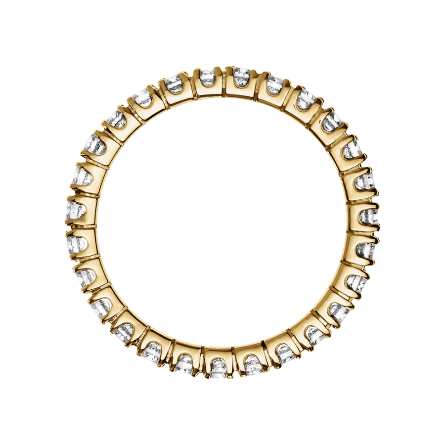 Memoire Ring Stockholm H SI in Gelbgold