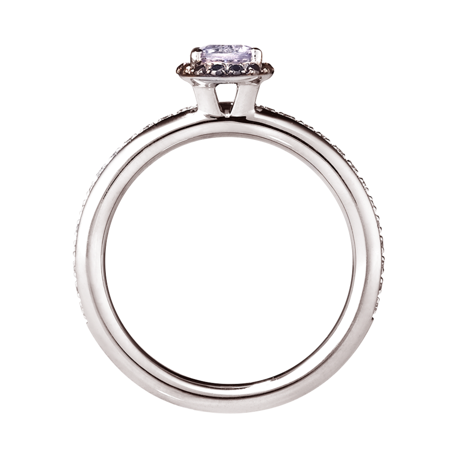Ring Romance in White Gold