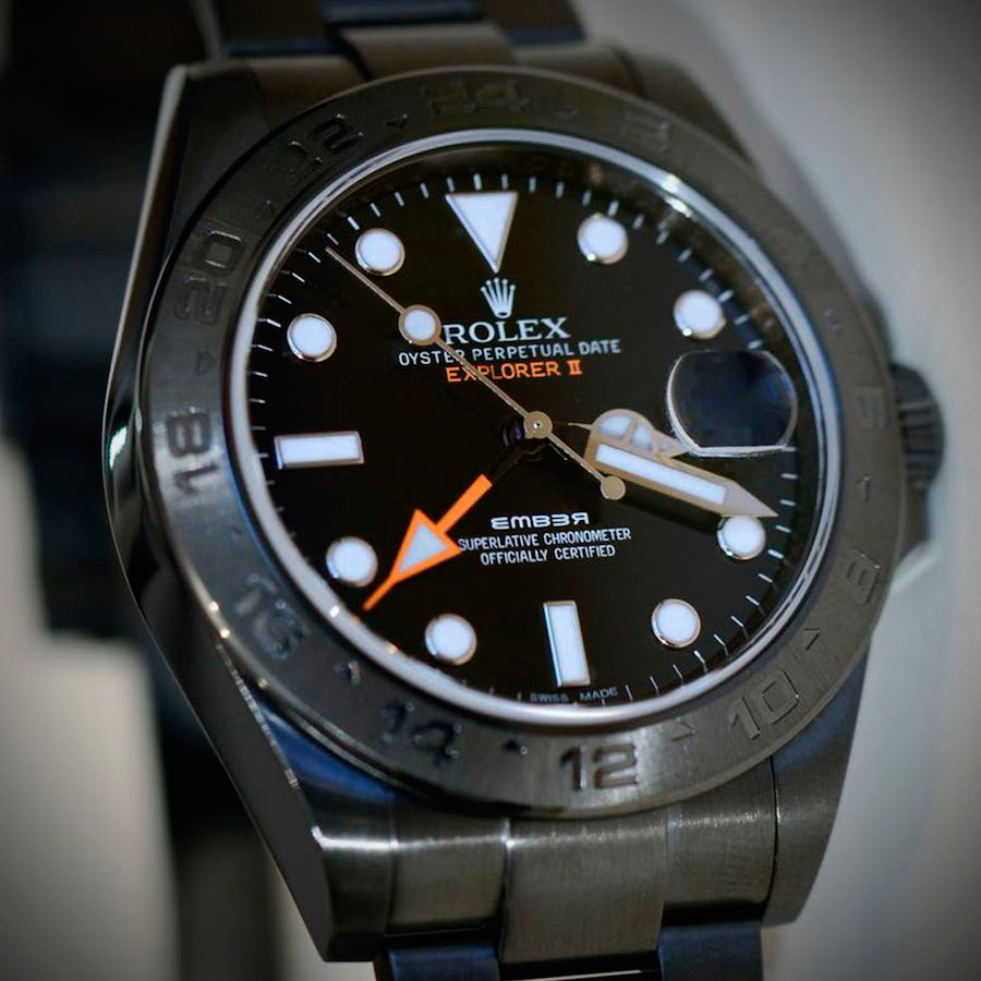 Rolex Explorer II Individual in Oyster Casing