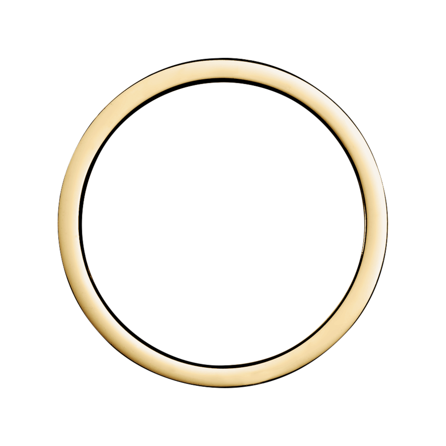 Romance Eternity Ring in Yellow Gold