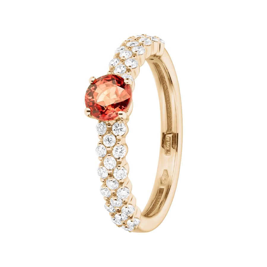 Romance Ring Triple in Roségold