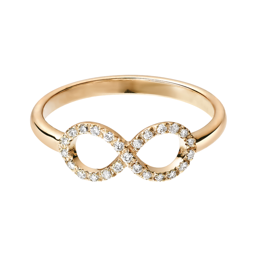 Starters Ring Infinity in Rose Gold