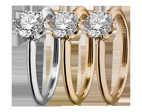 Diamantringe von RENÉSIM