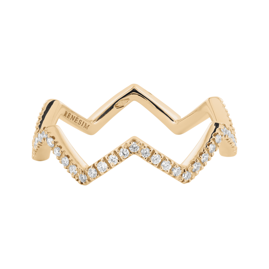 Enchanté Ring Chevron, € 949