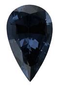 Spinell blau Tropfenschliff