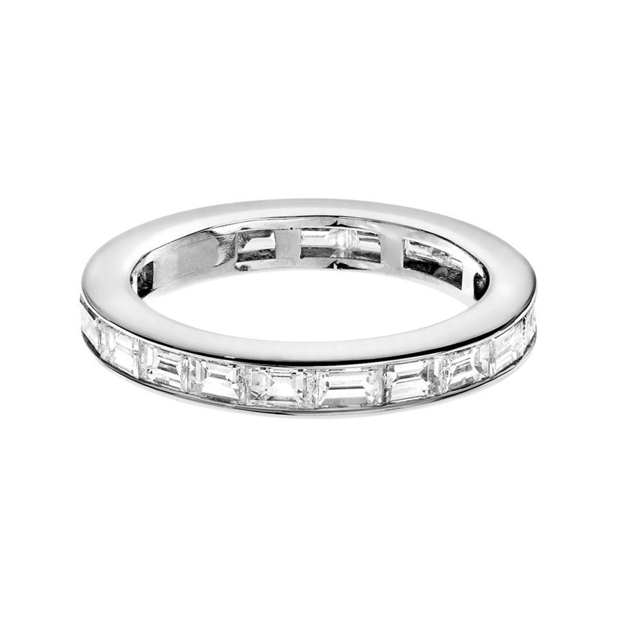 Eternity Ring Nice in White Gold