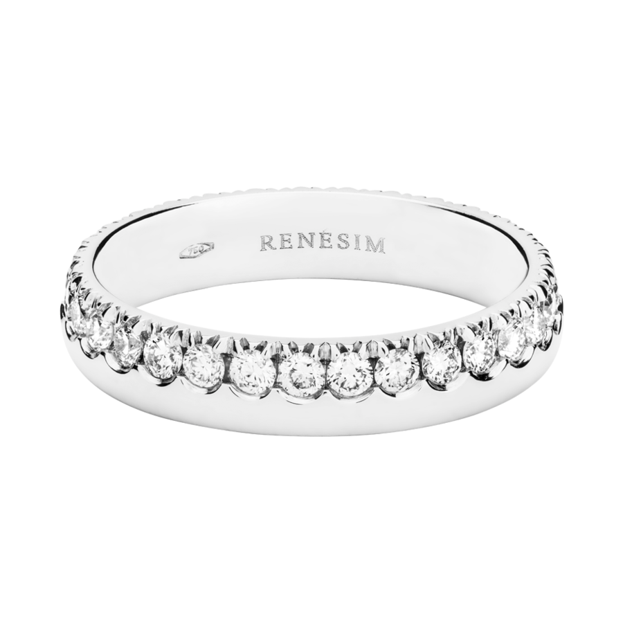 Eternity Ring Oxford G VS in Platinum