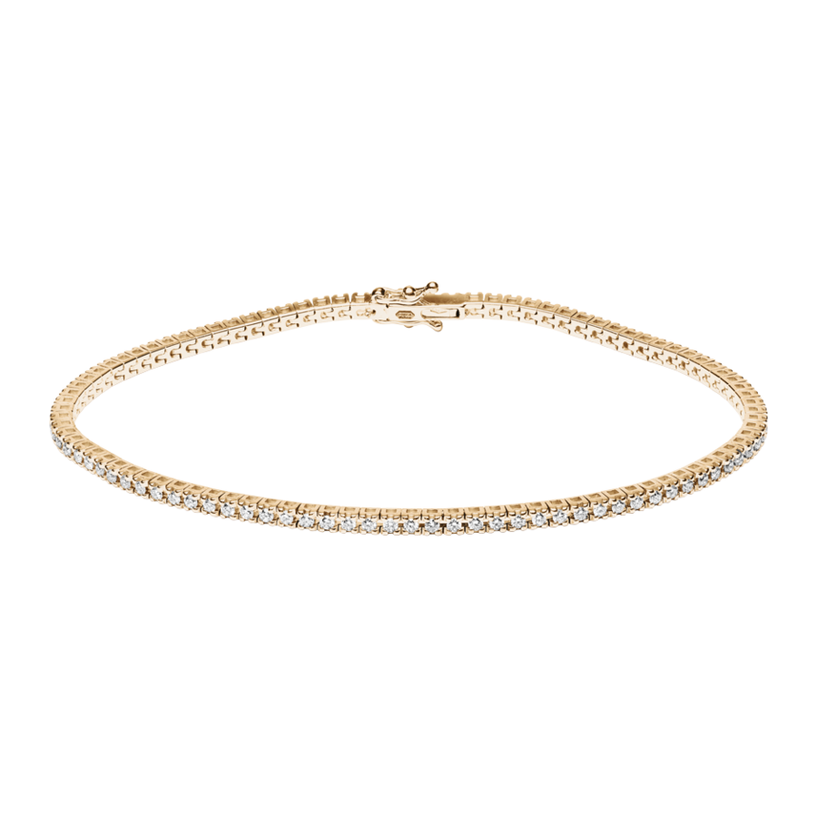 Tennisarmband 0,95ct in Roségold