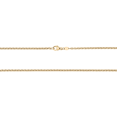 Anchor Chain Necklace in Rose Gold