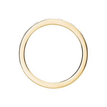 Eternity Ring Helsinki in Yellow Gold