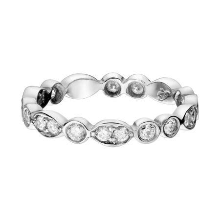 Eternity Ring Porto Cervo in Platinum