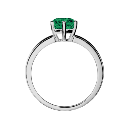 Malmö Emerald green in White Gold