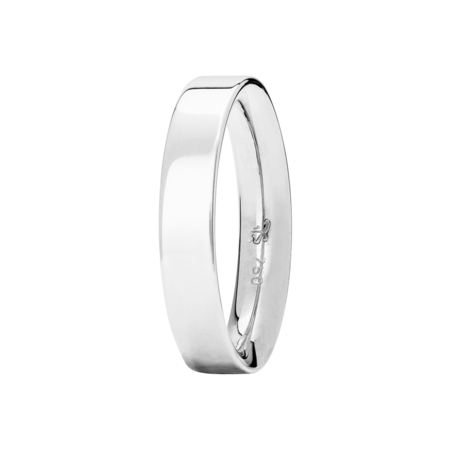 Ring Classics inverse in White Gold