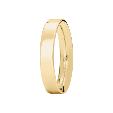 Ring Classics inverse in Yellow Gold