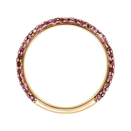 Ring Couleur Rose in Yellow Gold