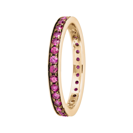 Bague Mémoire Romance in Or rose