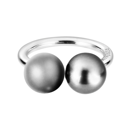 Bague Platin & Or blanc in Or gris