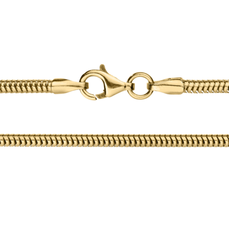Chaîne maille serpent in Or jaune