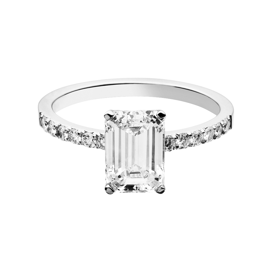 Diamantring Melbourne 0,75 ct in Weißgold