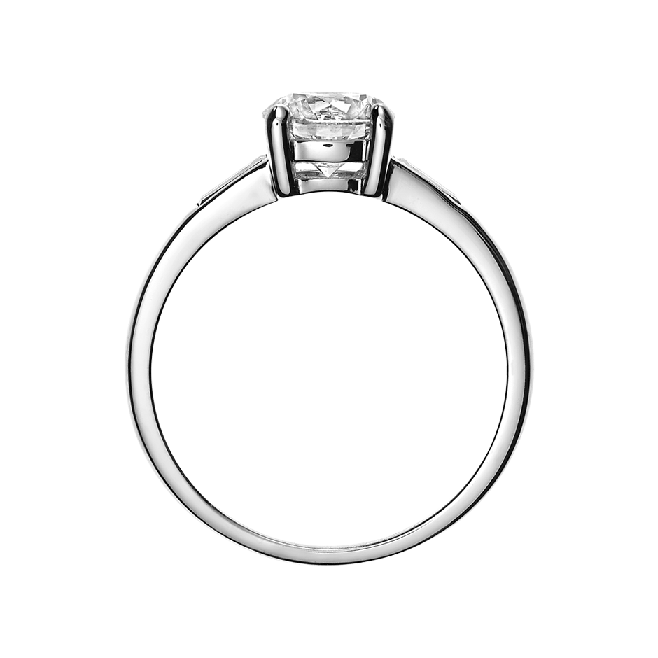 Diamantring Paris 0,25 ct in Weißgold