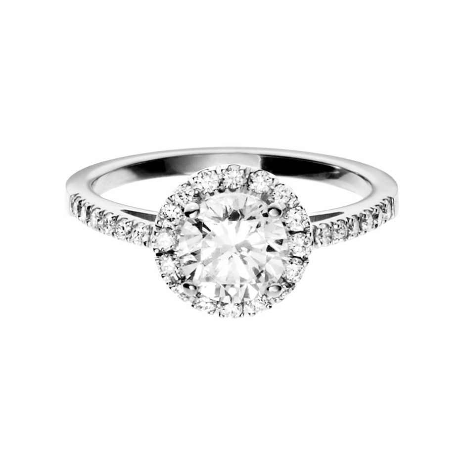 Diamond Ring Prague 0.75 carat in Platinum
