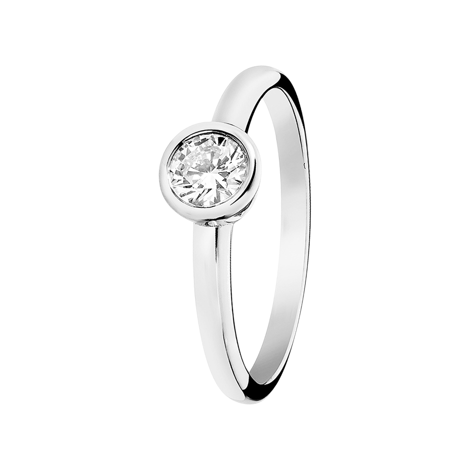 Diamond Ring Vienna 0.5 carat in Platinum