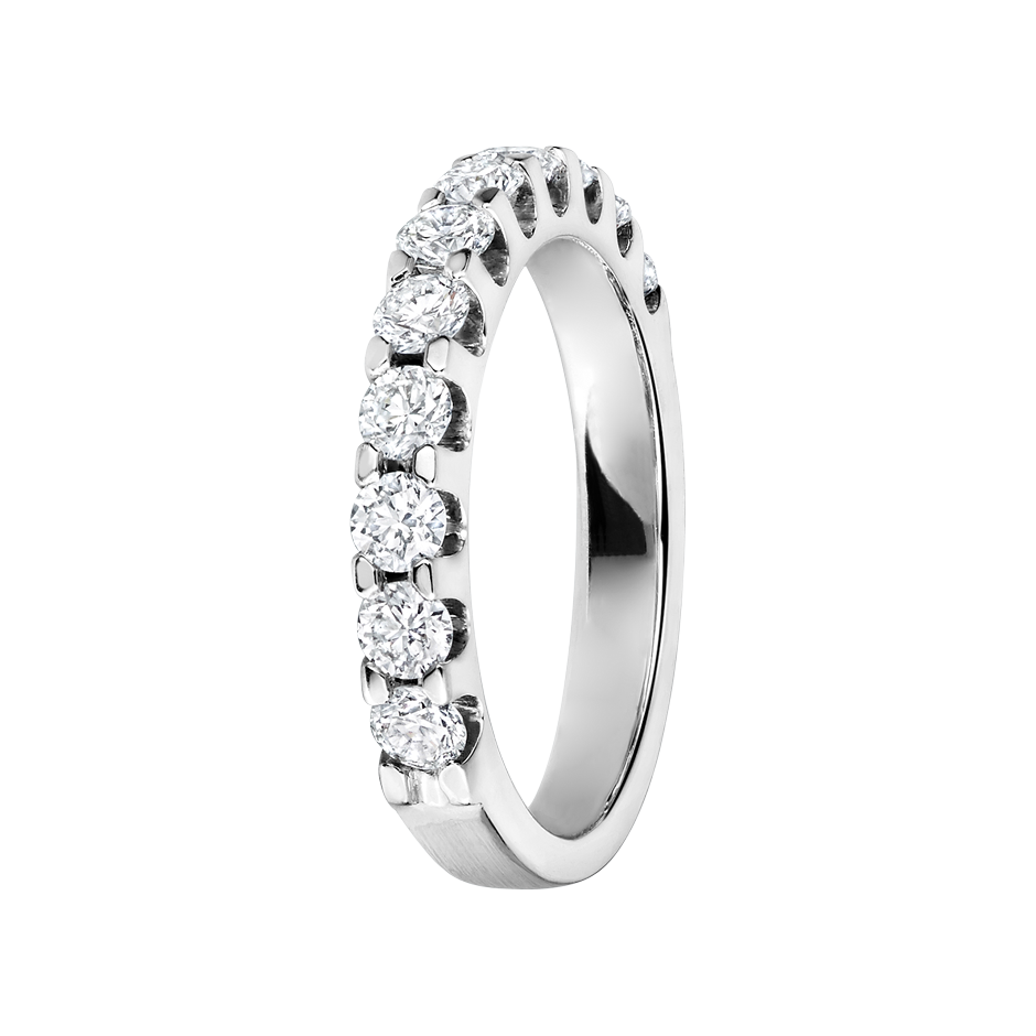Eternity Ring Bergen H SI in White Gold