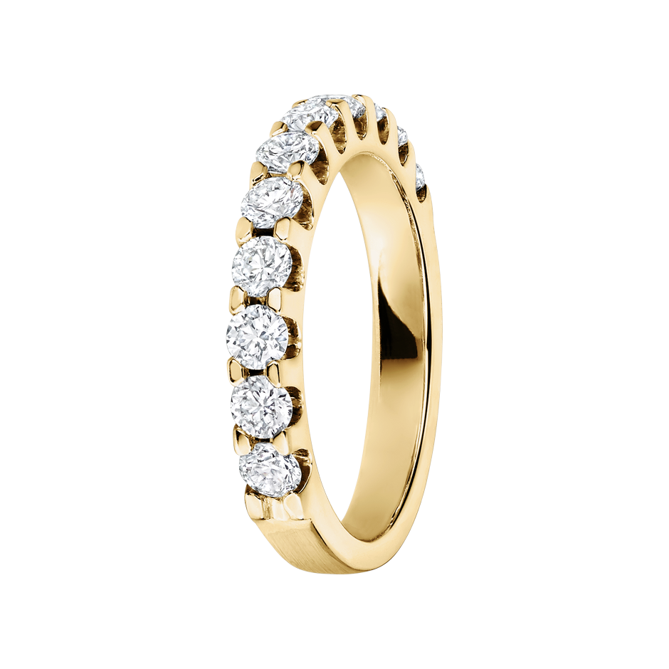 Eternity Ring Bergen H SI in Yellow Gold