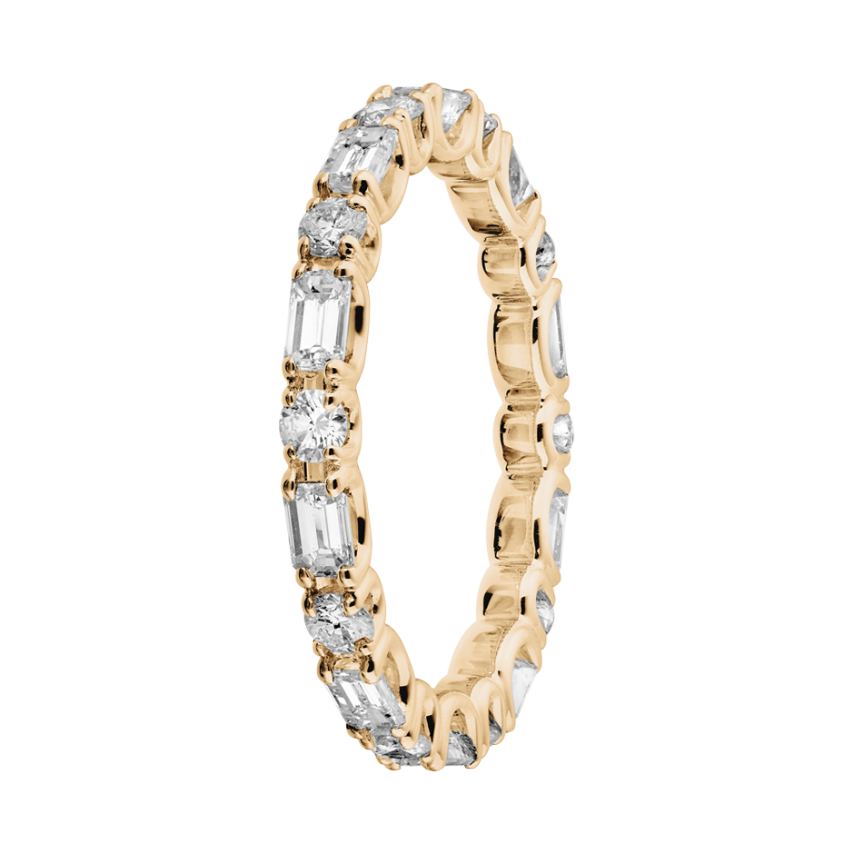 Eternity Ring Cannes in Rose Gold
