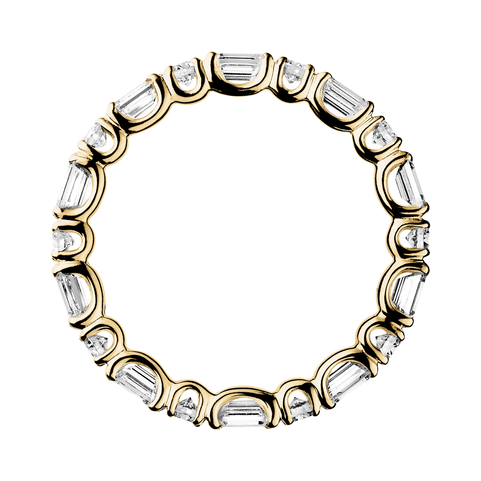 Eternity Ring Cannes in Yellow Gold