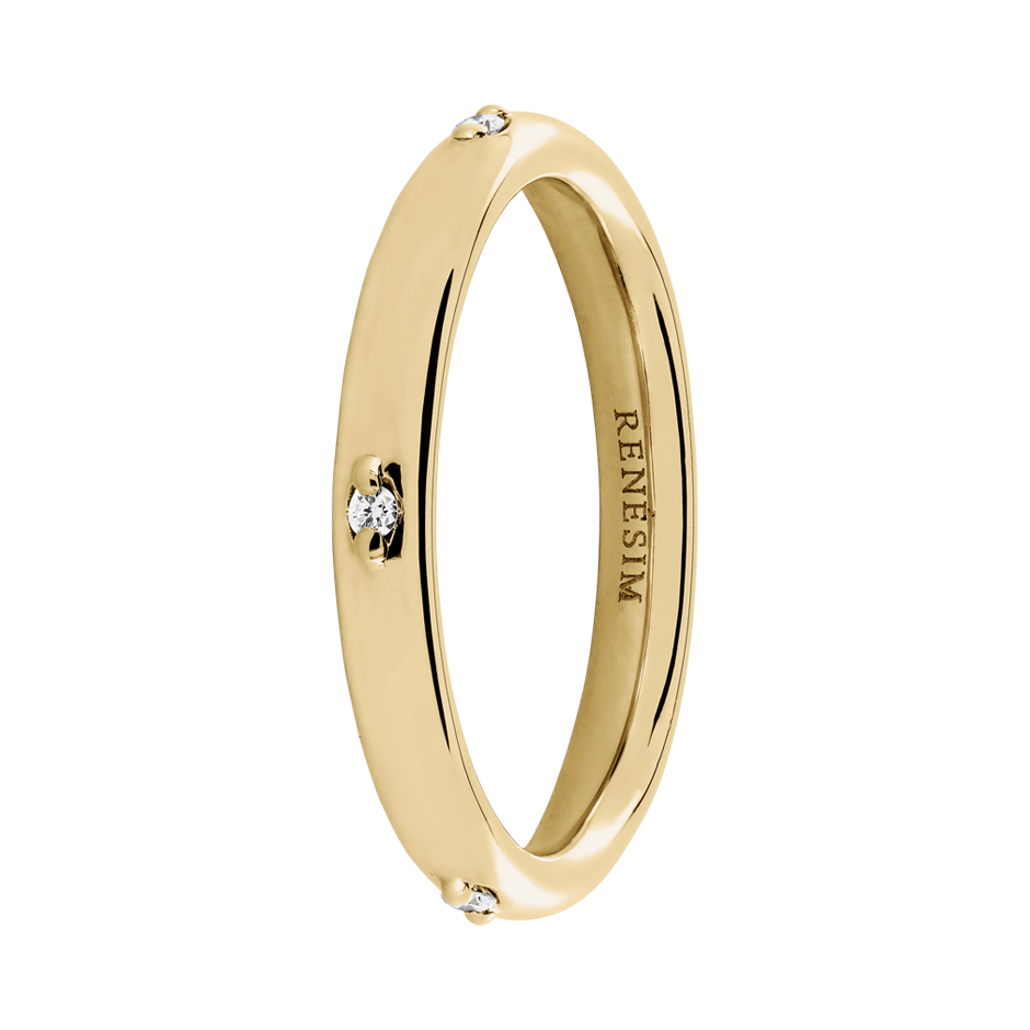 Eternity Ring Capri in Yellow Gold