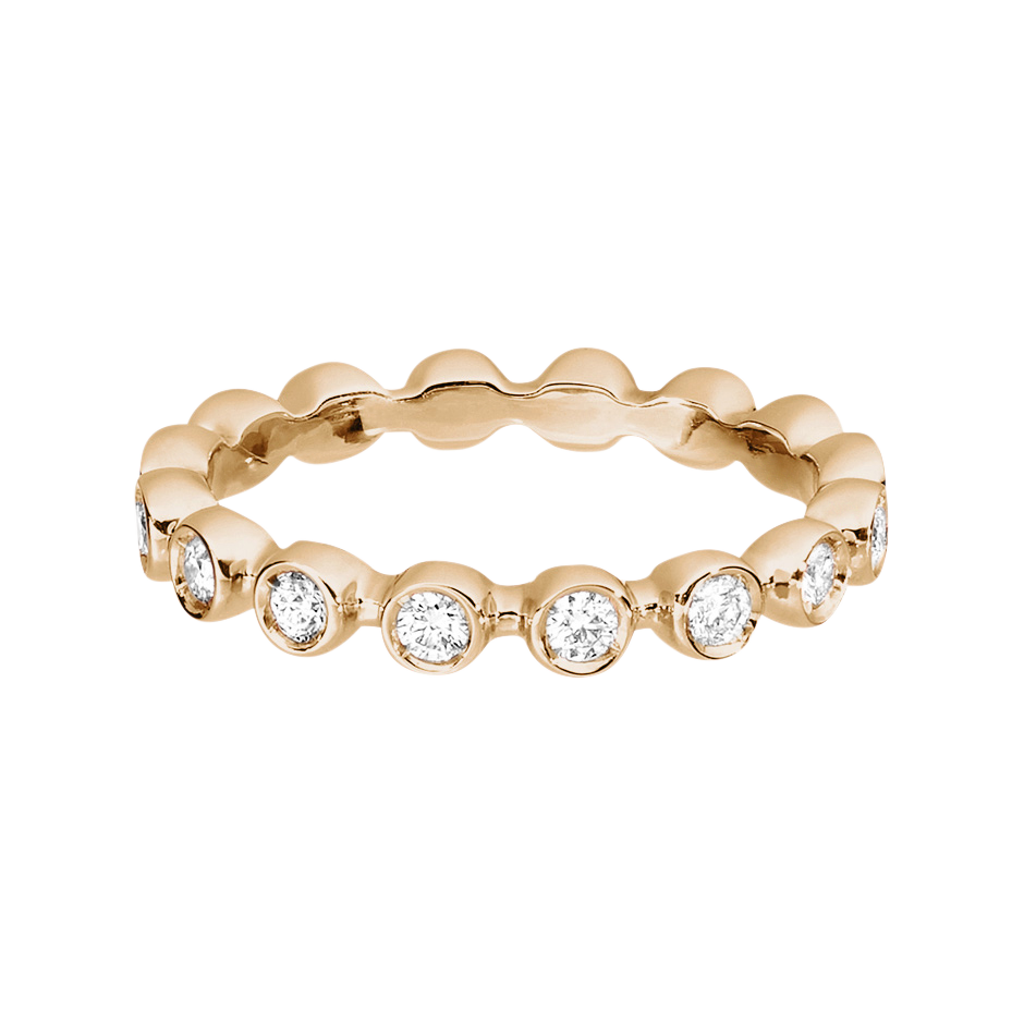 Eternity Ring Faro H SI in Rose Gold
