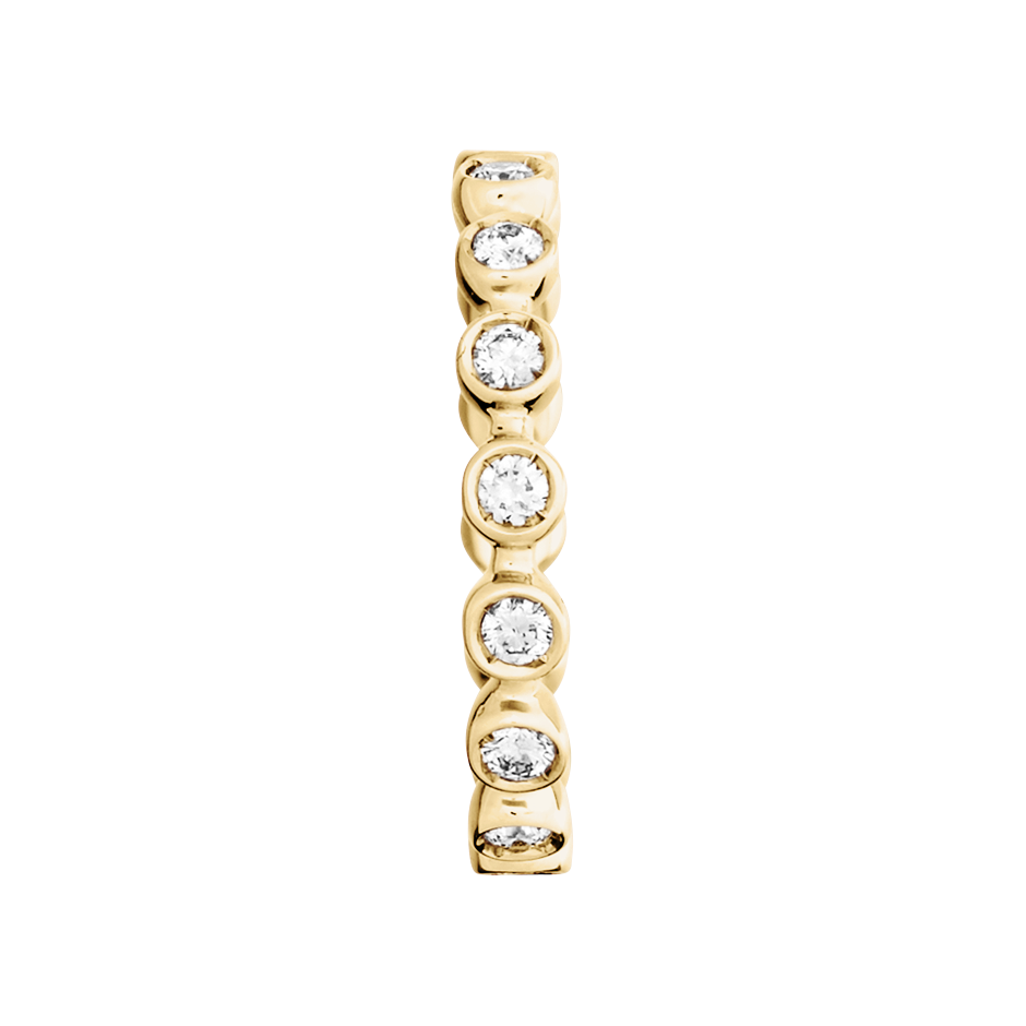 Eternity Ring Faro H SI in Yellow Gold