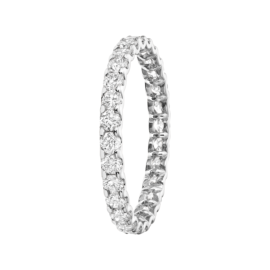 Eternity Ring Hamburg G VS in Platinum