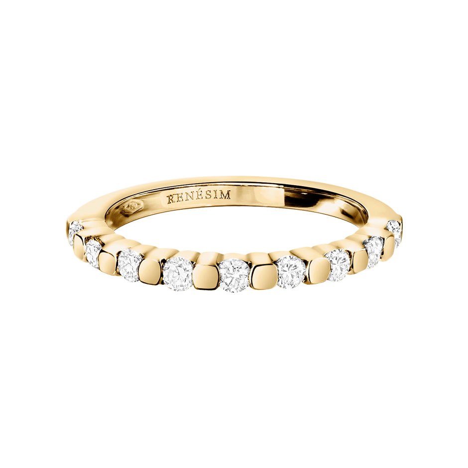 Eternity Ring Knokke G VS in Yellow Gold