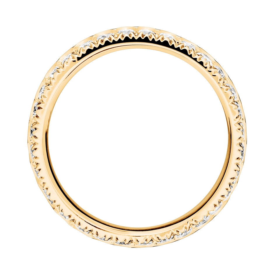 Eternity Ring Oxford G VS in Rose Gold