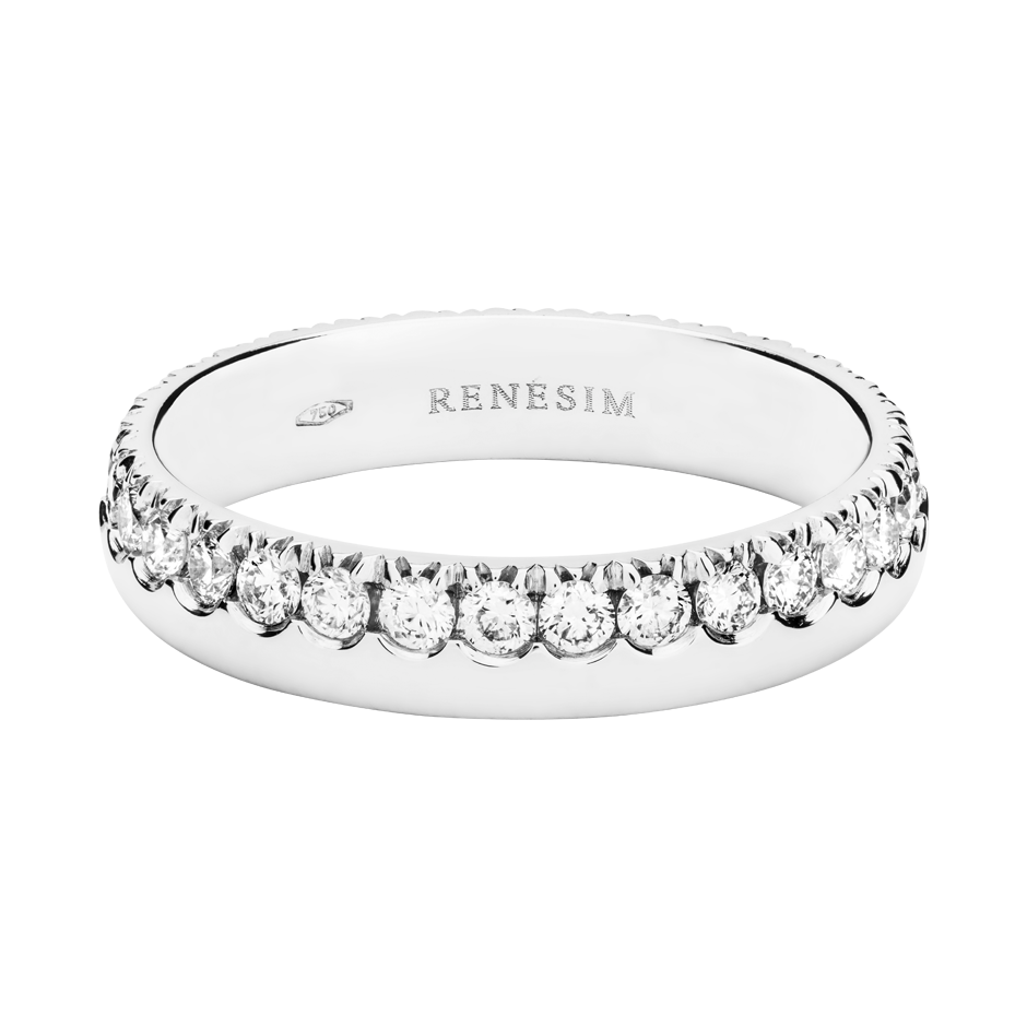 Eternity Ring Oxford H SI in White Gold