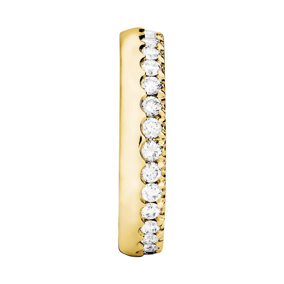 Eternity Ring Oxford H SI in Yellow Gold