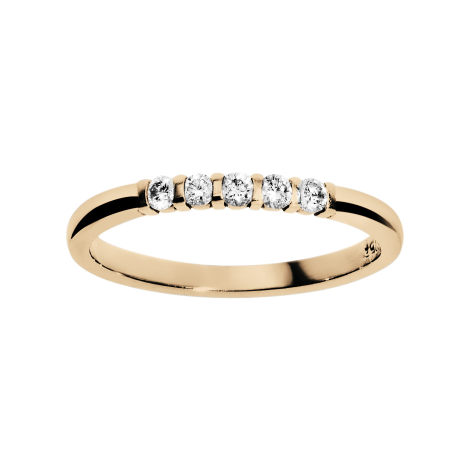 Eternity Ring Rotterdam H SI in Rose Gold