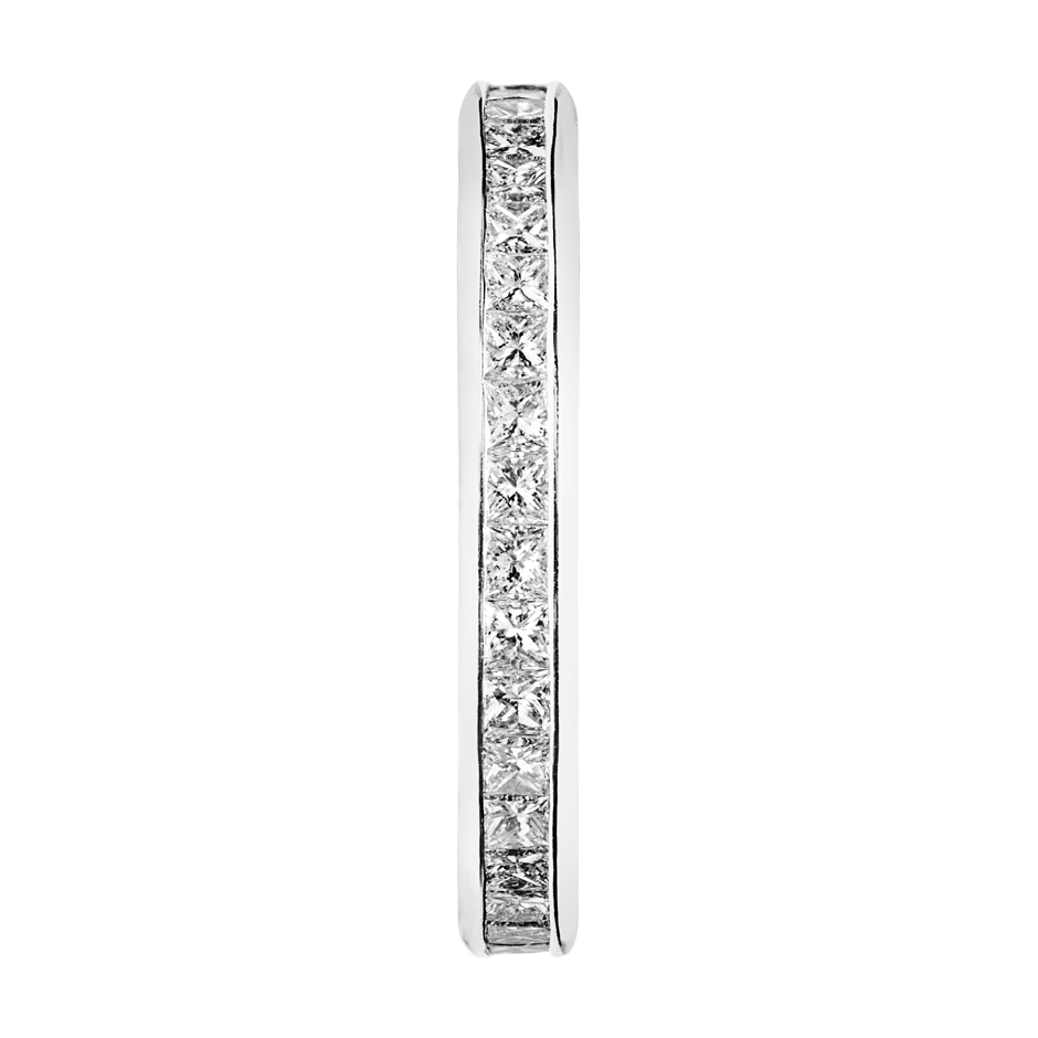 Eternity Ring Siena in White Gold